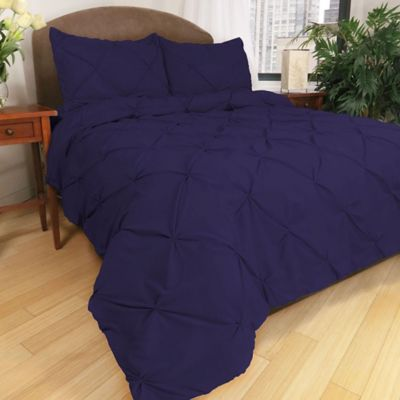 Park B. Smith® Ltd Pouf Down Alternative Full/Queen Comforter Set in Indigo