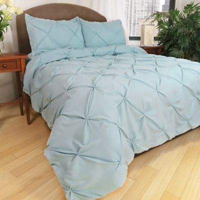 Park B. Smith® Ltd Pouf Down Alternative Full/Queen Comforter Set in Aegean Teal