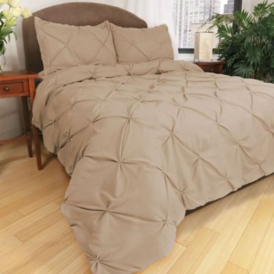 Park B. Smith® Ltd Pouf Down Alternative Full/Queen Comforter Set in Linen