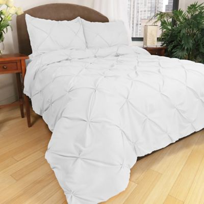 Park B. Smith® Ltd Pouf Down Alternative Full/Queen Comforter Set in White