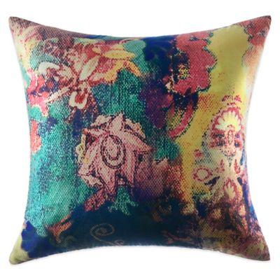 Tracy Porter® Poetic Wanderlust® Willow Printed Velvet Square Throw Pillow