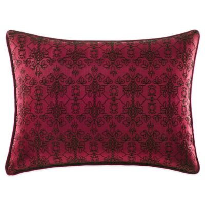 Tracy Porter® Poetic Wanderlust® Willow Solid Faux-Silk Oblong Throw Pillow