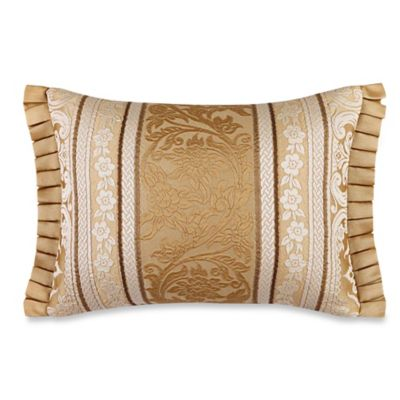 J. Queen New York™ Marcello Boudoir Throw Pillow in Gold