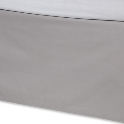 Kenneth Cole Reaction Home Element Queen Bed Skirt in Grey
