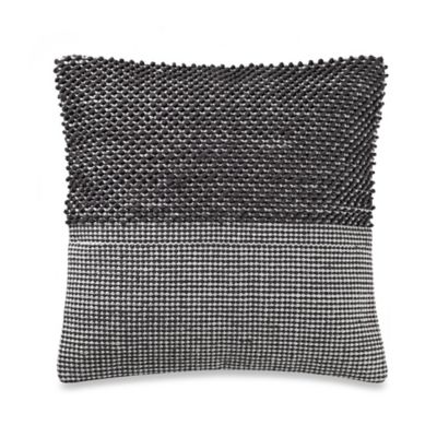 Kenneth Cole Reaction Home Fusion Woven Square Throw Pillow in Blue