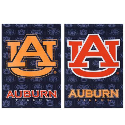 Auburn University Double-Sided Vertical Glitter Flag