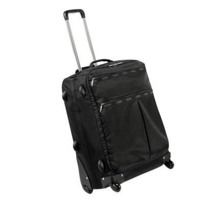 LeSportsac 22-Inch 4-Wheel Luggage in Black
