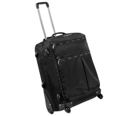 LeSportsac 24-Inch 4-Wheel Luggage in Black