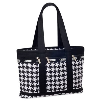 LeSportsac Medium Travel Tote in Houndstooth