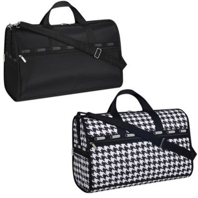 LeSportsac Large Weekender in Houndstooth