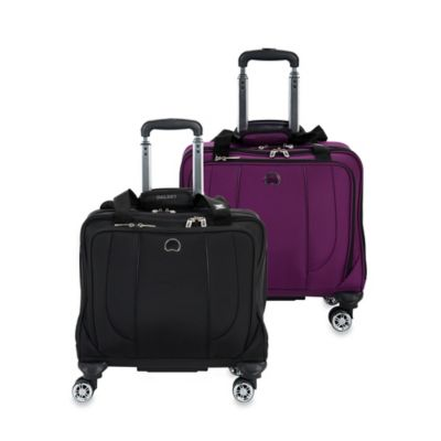 DELSEY Helium Cruise Carry On Spinner Tote in Purple