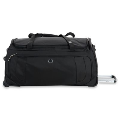 DELSEY Helium Cruise 30-Inch Rolling Duffle in Black