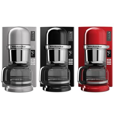 KitchenAid® 8-Cup Custom Pour-Over Brewer in Black