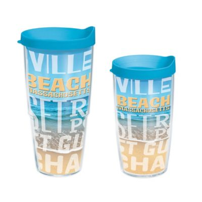 Tervis® Massachusetts Beach 24 oz. Wrap Tumbler with Lid