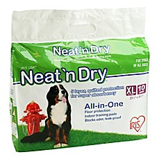 IRIS USA Neat 'n Dry™ 10-Pack XL Floor Protection and Training Pads