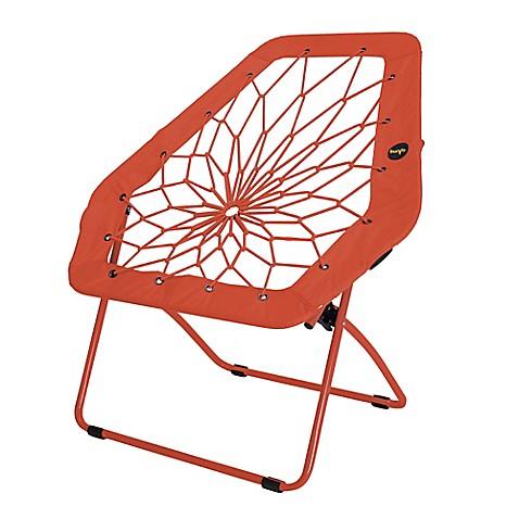 Bunjo oversized bungee chair in vermillion for Bunjo chair