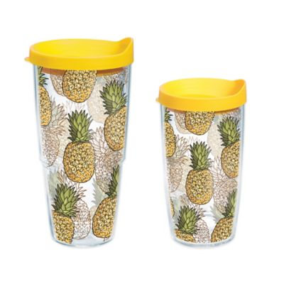 Tervis® Hawaiian Pineapple Collage 16 oz. Wrap Tumbler with Lid
