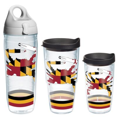 Tervis® Maryland Flag Crab Wrap 16 oz. Tumbler with Lid