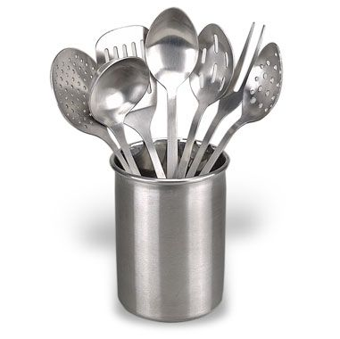 Steel Kitchen Utensil Sets
