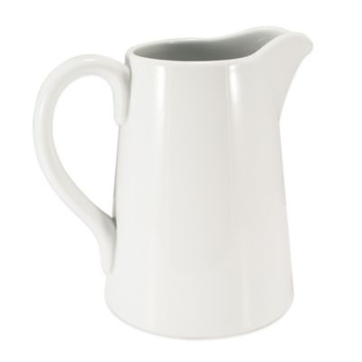 Everyday White Pitcher