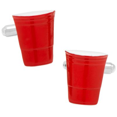 Red Party Cup Cufflinks