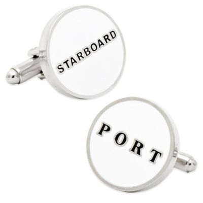 """Starboard"" and ""Port"" Cufflinks"