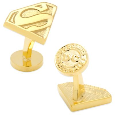 DC Comics Superman Shield Cufflinks