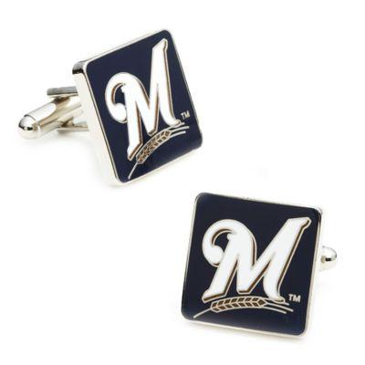 MLB Milwaukee Brewers Cufflinks