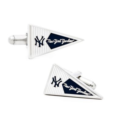 MLB New York Yankees Pennant Cufflinks