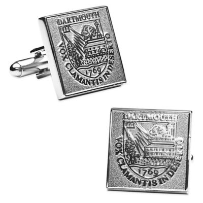 Dartmouth College Silver-Edition Cufflinks