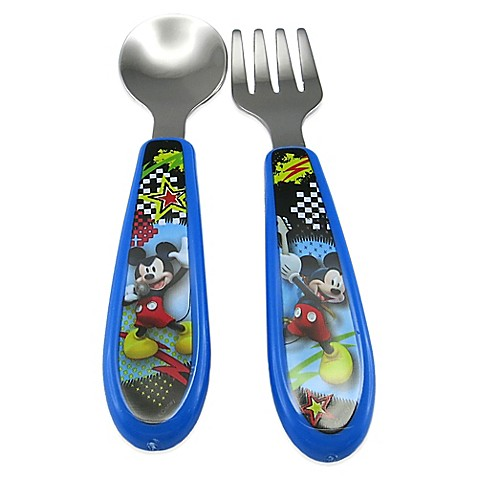 Mickey Mouse Clubhouse Easy Grasp Flatware