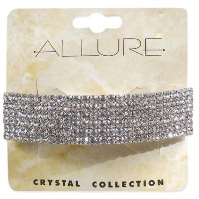 Allure 6-Row Rhinestone Bar Hair Clip