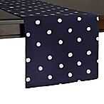 kate spade new york Charlotte Street 72-Inch Table Runner in Navy