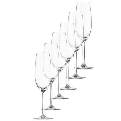 Schott Zwiesel Tritan Diva Living Champagne Flutes (Set of 6)