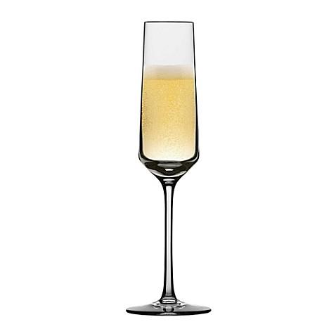 Schott Zwiesel Tritan Pure Champagne Flutes (Set of 6) - BedBathandBeyond.com
