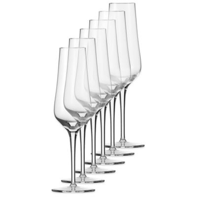 Chip Resistant Champagne Glasses