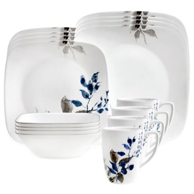 Corelle® Boutique Kyoto Night 16-Piece Dinnerware Set