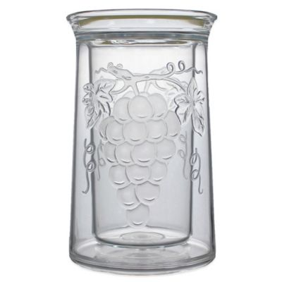 Prodyne Embossed Grape Iceless Wine Cooler