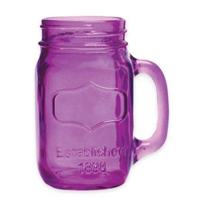 Purple Drinking Glasses