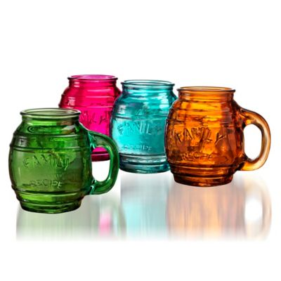 Yorkshire Glass Barrel Mugs