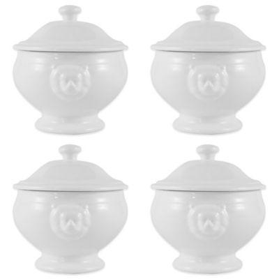 White Porcelain Soup Bowls