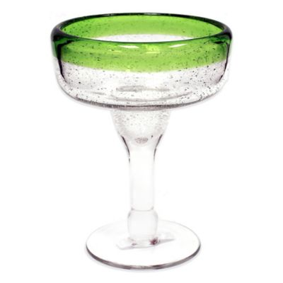 Green Margarita Glass