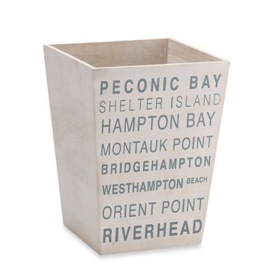 Long Island Localities Wastebasket