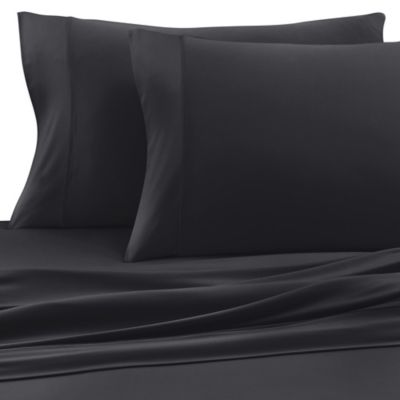 Sheex® Experience King Performance Fabric Pillowcases in Black (Set of 2)