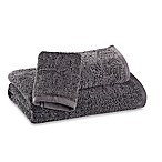 Kenneth Cole Reaction Home Vintage-Washed Washcloth in Grey