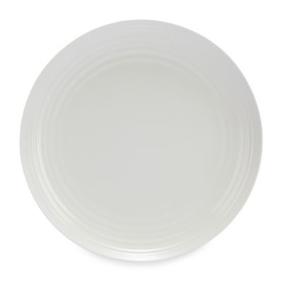 Solid White Melamine Dinner Plate