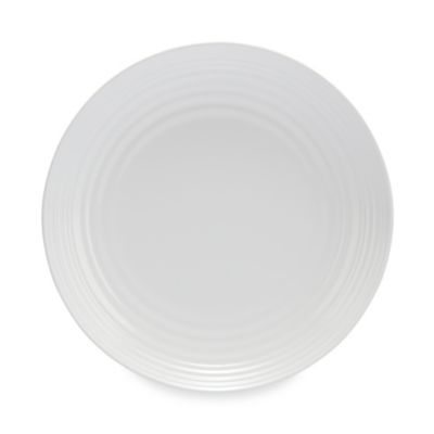 Solid White Melamine Salad Plate