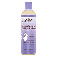 Babo Botanicals® 12 oz. 3-in-1 Bubble Bath, Shampoo and Body Wash in Lavender Meadowsweet