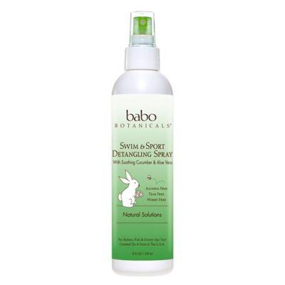 Babo Botanicals® Swim & Sport Detangling Spray in Cucumber & Aloe Vera