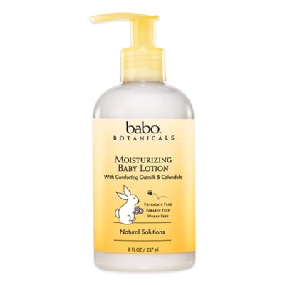 Babo Botanicals® 8 oz. Moisturizing Baby Lotion in Oatmeal Calendula
